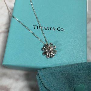 Tiffany & Co. Silver Daisy Necklace